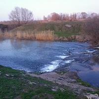 Река Олым.