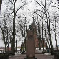 В память освобождения города 7 апреля 1918 года. , другой ракурс