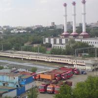 Москва. Июль
