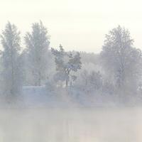 Рефтинский. Зима