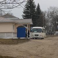 Центр станицы. Место остановки автобуса