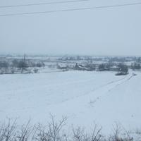 Зимний сон села