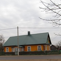 Дом в деревне.