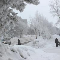Проспект Победы в январе 2015