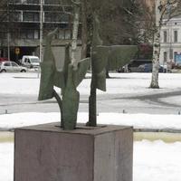 Миккели, городской сквер