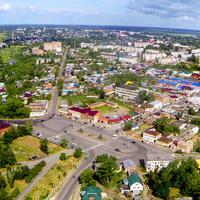Ефремов. Красная площадь. Панорама