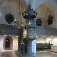 Кафедральный собор Девы Марии, интерьеры внутри