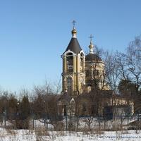 пос. Мосрентген. Церковь Троицы Живоначальной.