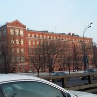 Здание казарм Даниловской камвольной прядильни (Московская академия экономики и права)