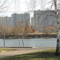 Братеево, Москва-река