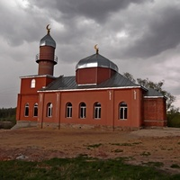 Мечеть восстановили.