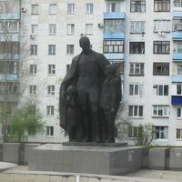 г.Оренбург, памятник Ф.Э.Дзержинскому