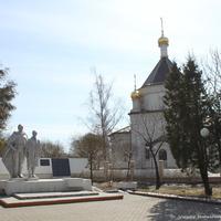 Поселок совхоза им Ленина.