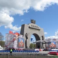 Открытие Арки Победы в Красном Селе