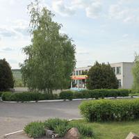 Здание школы в селе Хохлово