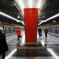 Поезда метро на станции Жулебино.