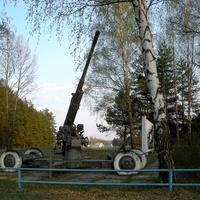 Мемориальный комплекс на окраине села  Ржавец