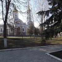 Октябрьский. Храм