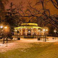 Кафе в парке.
