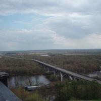 Мост через реку Клязьма.