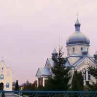Church Ascension of the Lord. Holobutiv (Stryi Raion)