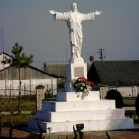 The figure of Jesus Christ in the village Ugry