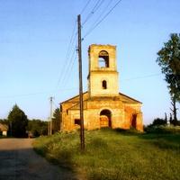 Лутовёнка, церковь  Иверской  Божией  матери, 1904 года  постройки.