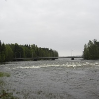 Лангинкоски, река Кюмийоки