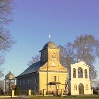 Стародавня християнська церква святих Кузьми і Дем'яна в селі Галичани Городоцького району. (будова 1819 року).