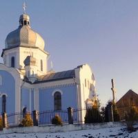 Новозбудований храм Богоявлення Господнього в селі Вовчухи Городоцького району.
