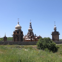 Сухарево. Воскресенский монастырь Новый Иерусалим на Михеевой горе.