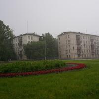 Нахимовский проспект, летний дождь