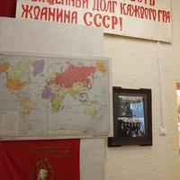 """Мясоедово. Библиотека-музей """"Мясоедовское подполье""""."""