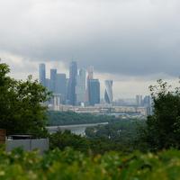Вид с Воробьёвых гор
