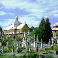 Церква святої Покрови і кладовище на Тудинці (1854, дерев'яна).