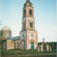 Покровский храм в Пашнево. Вид с северо-запада