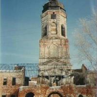 Колокольня Николае-Радовицкого монастыря. 90-е годы