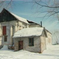 Сельский храм Рождества Богородицы. Вид с юго-запада. 90-е годы