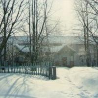 Сельский храм Рождества Богородицы. Вид с севера. 90-е годы