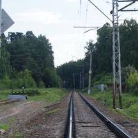 Леснополянский железнодорожный переезд