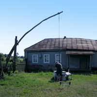 Старый дом в селе Тазово