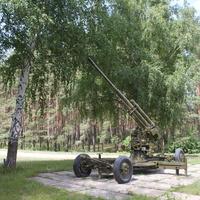 Ржавец. Мемориал в память о зенитчиках Великой Отечественной.