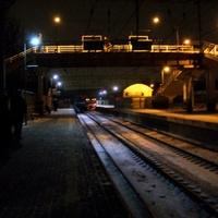 Станция Косино. Вечер.