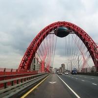 Крылатское. Вантовый мост. (Живописный мост).