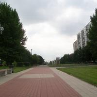 Осенний бульвар.