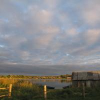 Закат в Шиловке с видом на Гущу