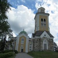 Керимяки. Старинная деревянная церковь