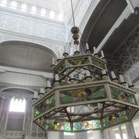 Керимяки. Старинная деревянная церковь, интерьеры внутри