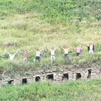 Дорога в Анклух  (выстроена из скальных камней)