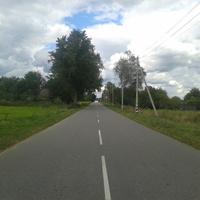 улица Рогачёвская в деревне Виричев.
